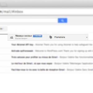 Repertoir gmail automatique