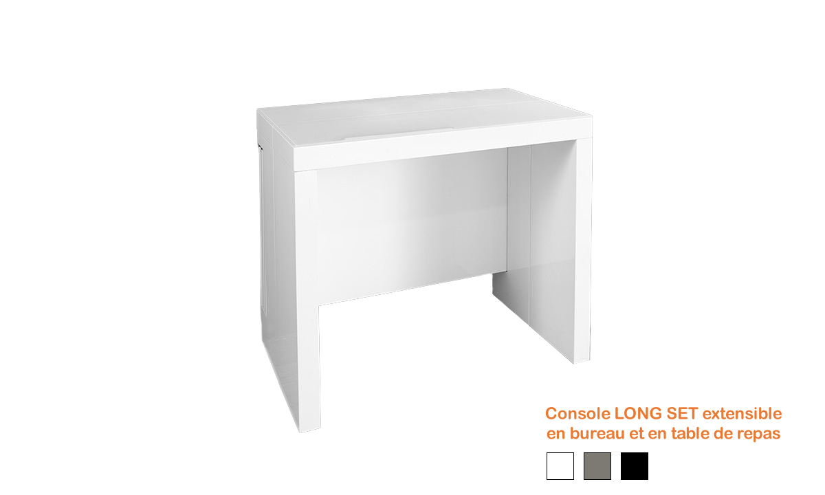 console extensible long set eda concept home center. Black Bedroom Furniture Sets. Home Design Ideas