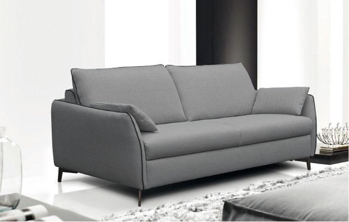 Canapé convertible gris // LATINA
