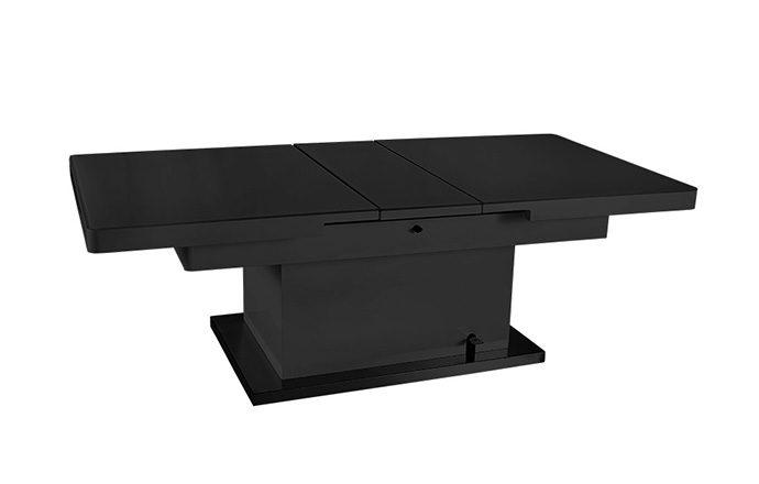 Table basse relevable Noir - Jet set de EDA Concept