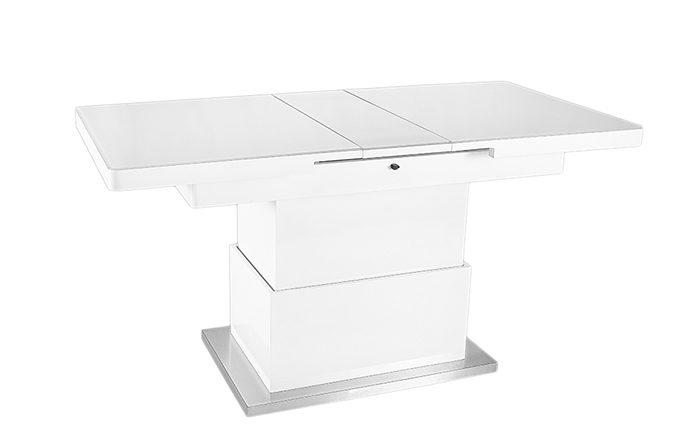 Table basse relevable Blanc - Jet set de EDA Concept