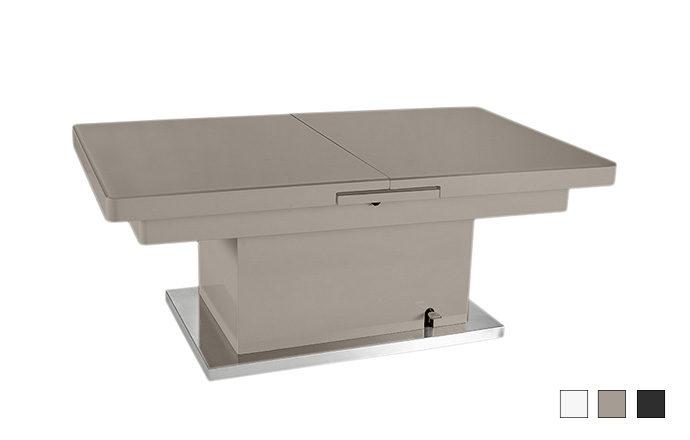 Table basse relevable - Jet set de EDA Concept
