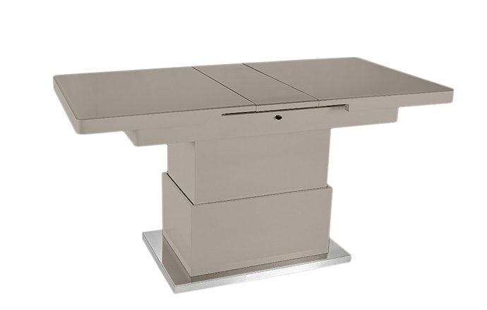 Table basse relevable Taupe - Jet set de EDA Concept