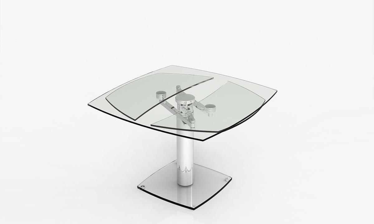 26cdecf2137b08 TABLE DE REPAS EXTENSIBLE GROOVE EDA CONCEPT   Home Center