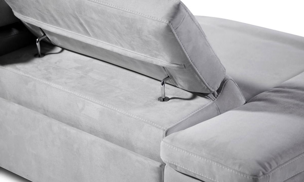 canap microfibre azione nicoletti fixe 2 3 places. Black Bedroom Furniture Sets. Home Design Ideas