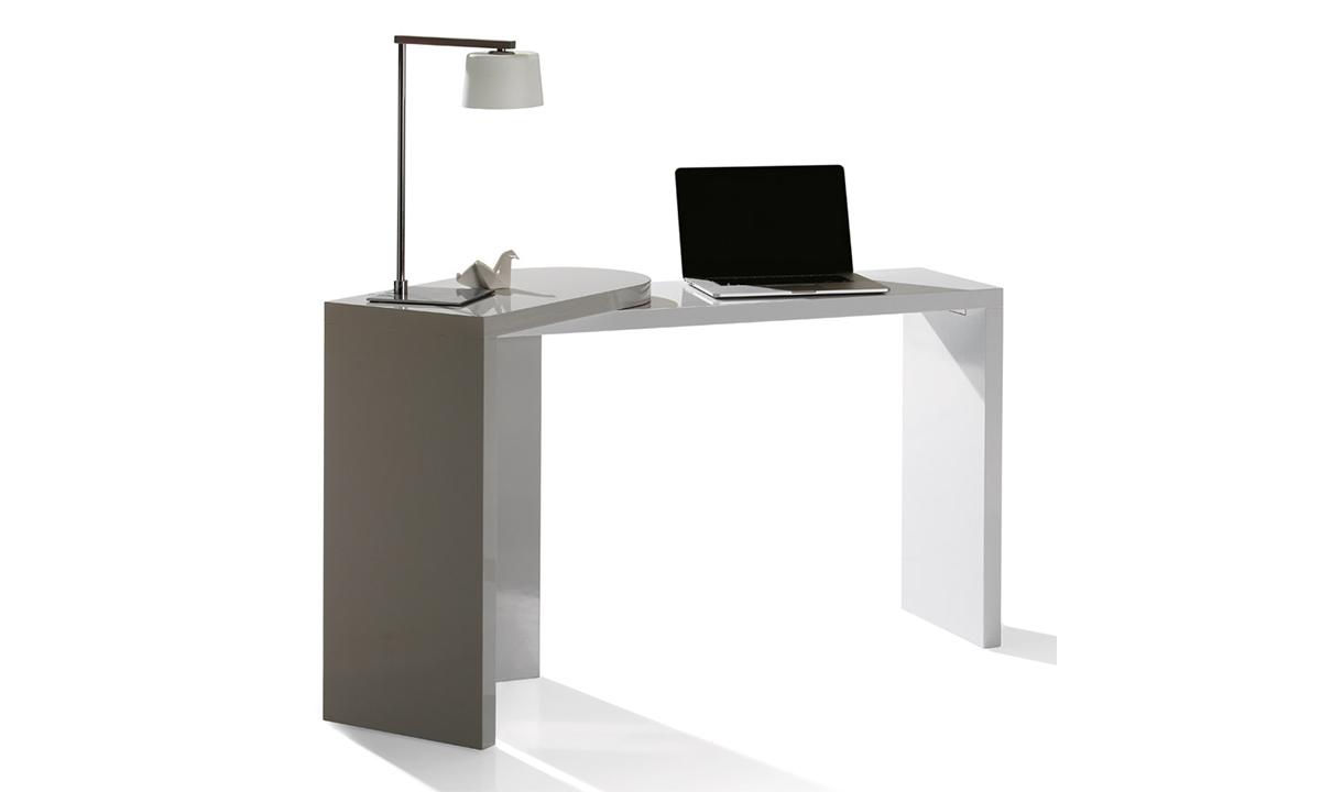 console bureau city avec partie amovible antoine motard home center. Black Bedroom Furniture Sets. Home Design Ideas