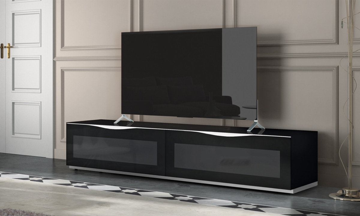 meuble tv active door modena munari home center. Black Bedroom Furniture Sets. Home Design Ideas
