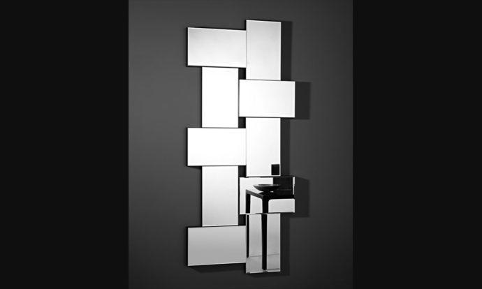 Miroir Criss Cross de Deknudt Mirrors