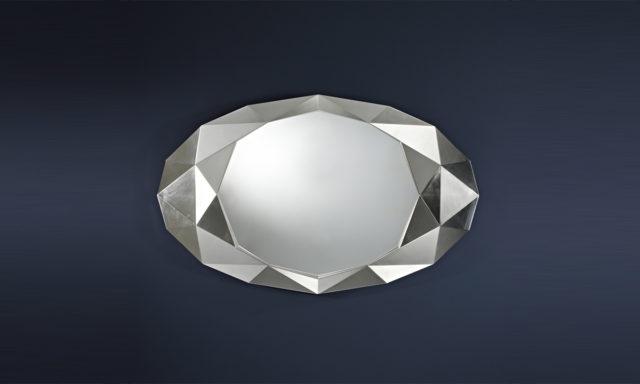 Miroir Precious Silver de Deknudt Mirrors