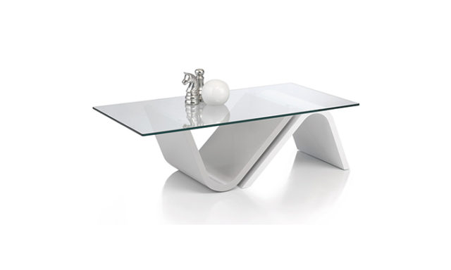 Table basse rectangulaire verre - Antoine Motard