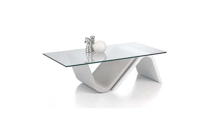 Table basse rectangulaire verre - Antoine Motard
