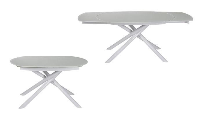 Table de repas blanc Mikado EDA Concept
