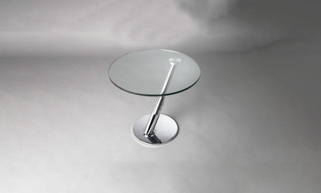 Table d'appoint en verre BLING Eda Concept