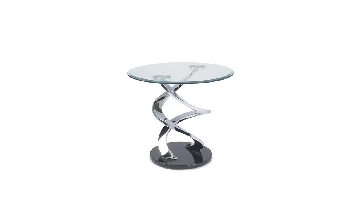 TABLE D'APPOINT EN VERRE CYCLONE EDA CONCEPT 1