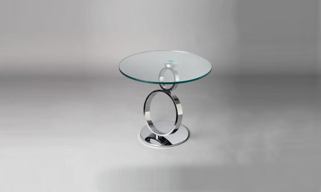 Table d'appoint en verre EYE Eda Concept