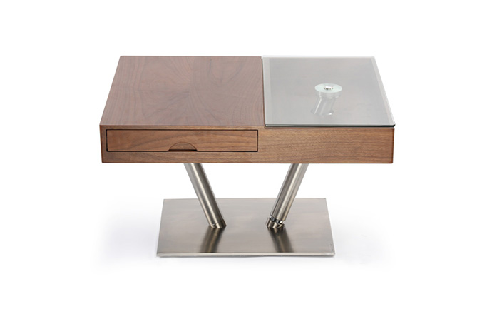 Table basse bois noyer - BALKIS de Baakal & Ross