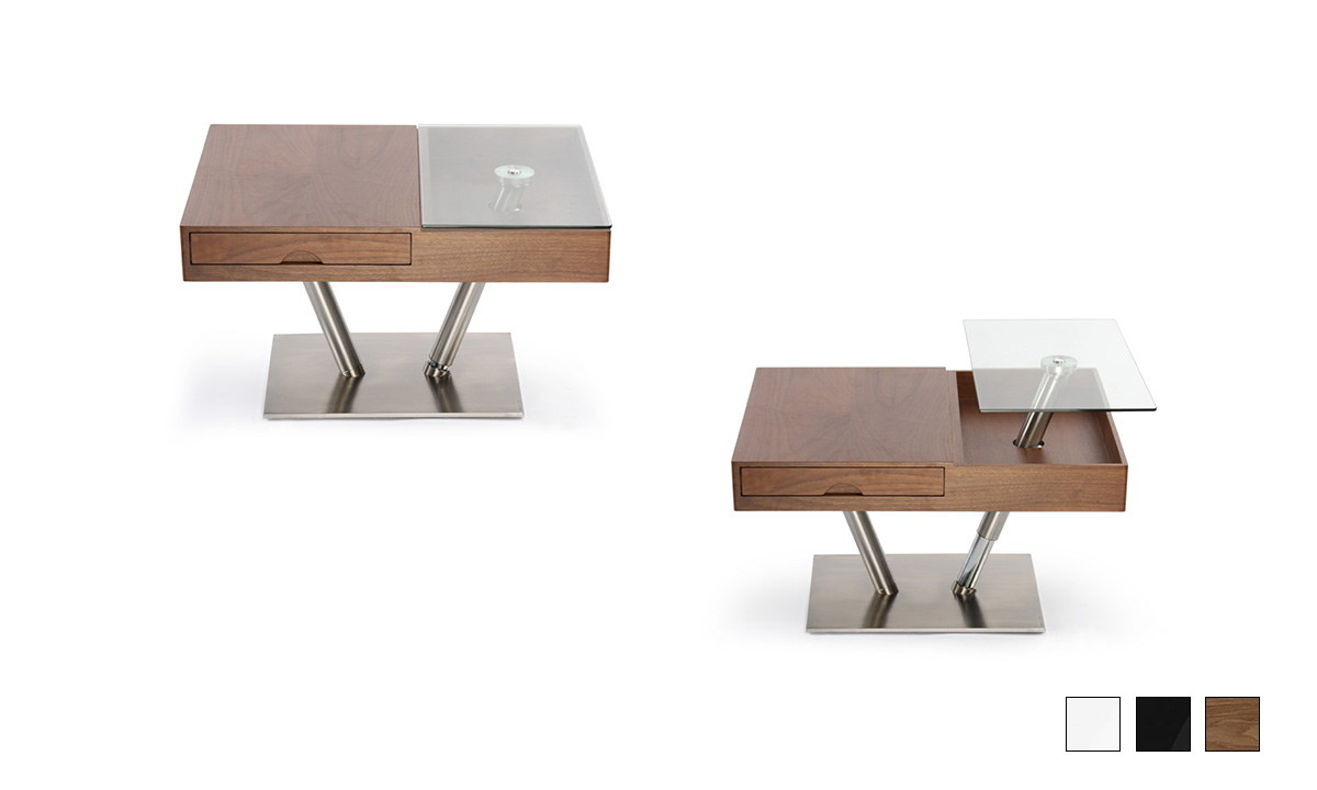 TABLE BASSE AVEC PLATEAU RELEVABLE BALKIS BAAKAL & ROSS 1