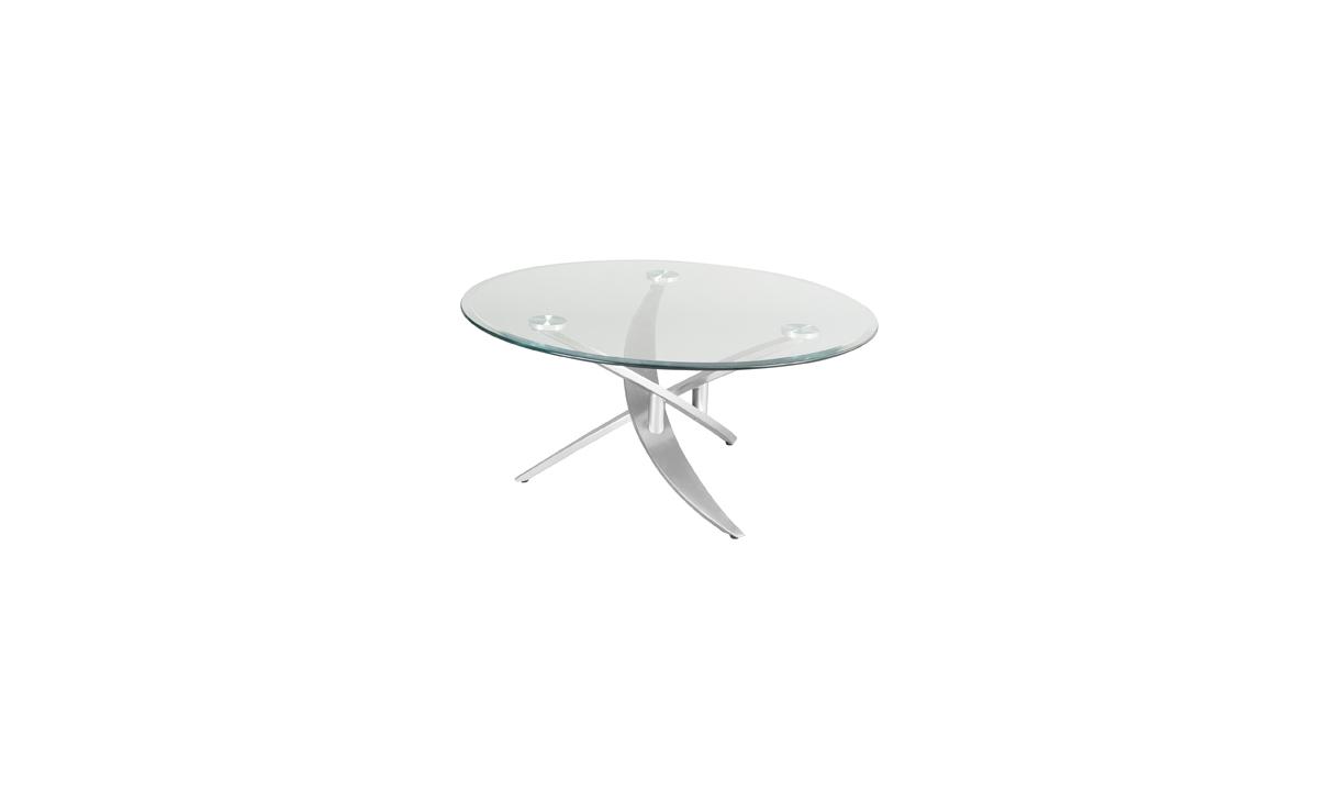 TABLE BASSE RONDE EN VERRE BAMBOU EDA CONCEPT 1