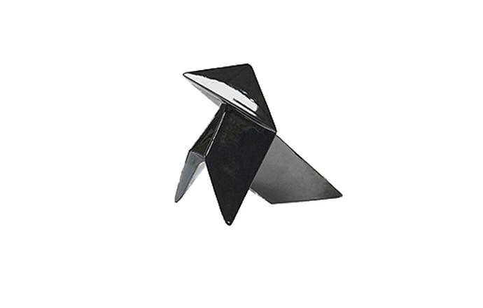 Accessoire ORIGAMI KAMI - GM Noir de la Faïencerie de Charolles
