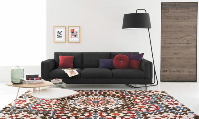Canapé contemporain METRO de Calligaris