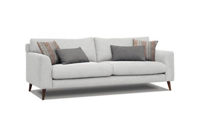 canap style scandinave en tissu dave home center. Black Bedroom Furniture Sets. Home Design Ideas