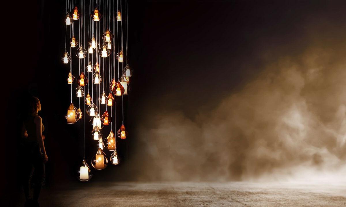 Lampe Suspendue Circe Concept Verre Home Center