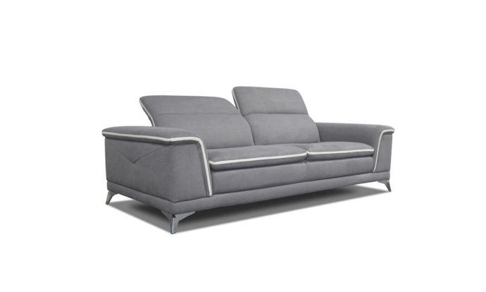 Canapé en tissu avec têtière CALIFORNIA by Home Center
