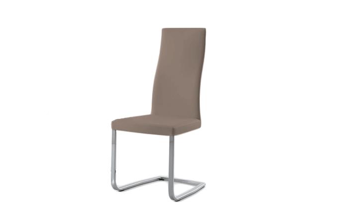 Chaise style luge SLIM de chez COMPAR - Argile