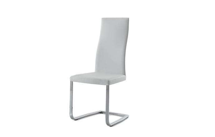 Chaise style luge SLIM de chez COMPAR - Blanc