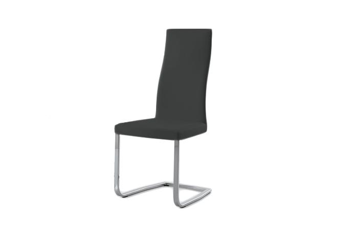 Chaise style luge SLIM de chez COMPAR - Gris cendré