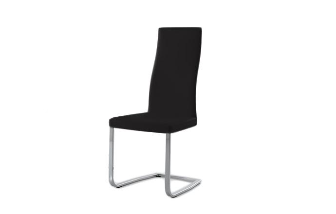 Chaise style luge SLIM de chez COMPAR - Noir