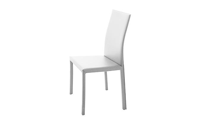 Chaise ROMINA de chez COMPAR - Blanc