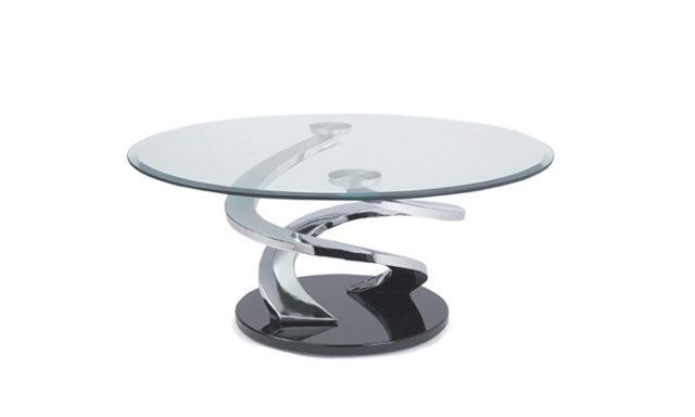 Table basse en verre - TORNADE de EDA Concept