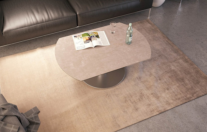 Akante Luna Extensible Basse Table Table deCBox