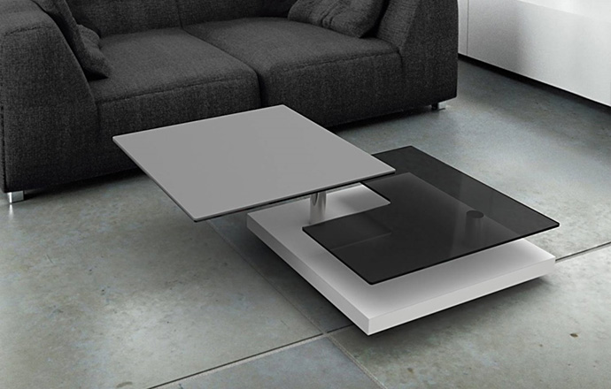 Table basse céramique gris - Sophia d'AKANTE