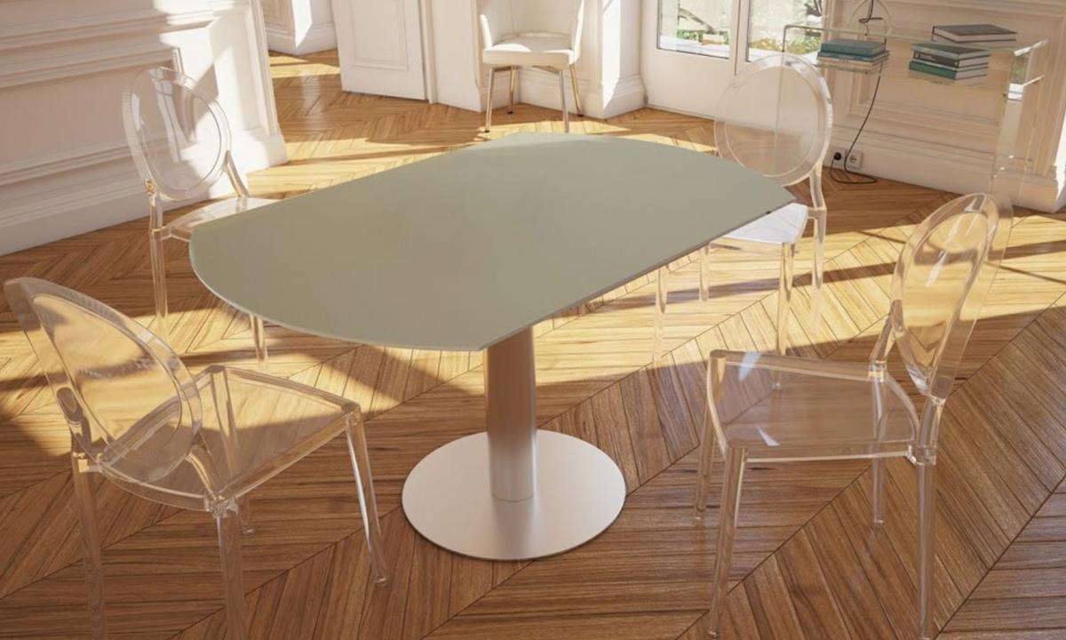 TABLE DE REPAS EXTENSIBLE LUNA – AKANTE 1