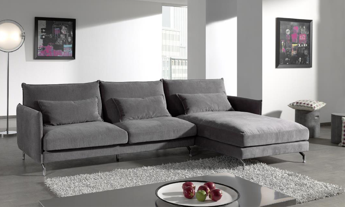 CANAPÉ D'ANGLE CHAISE LONGUE NAPOLI – By Home Center 1