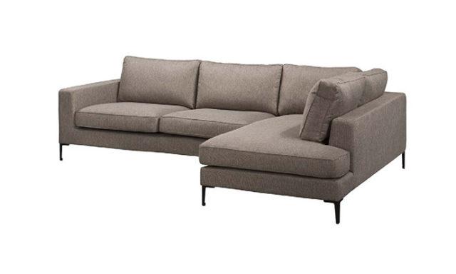 Canapé d'angle LIDO - Gris V17
