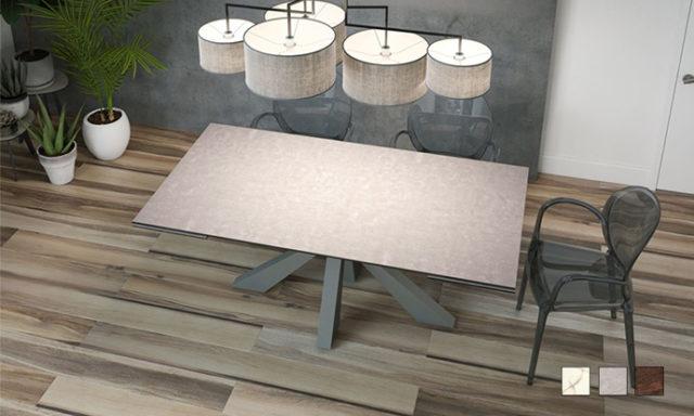 Table de repas céramique extensible OTTAWA de chez Akante