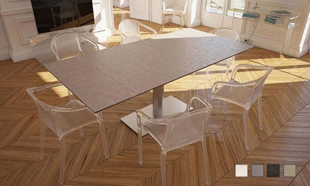 Table de repas extensible PANAMA de chez Akante