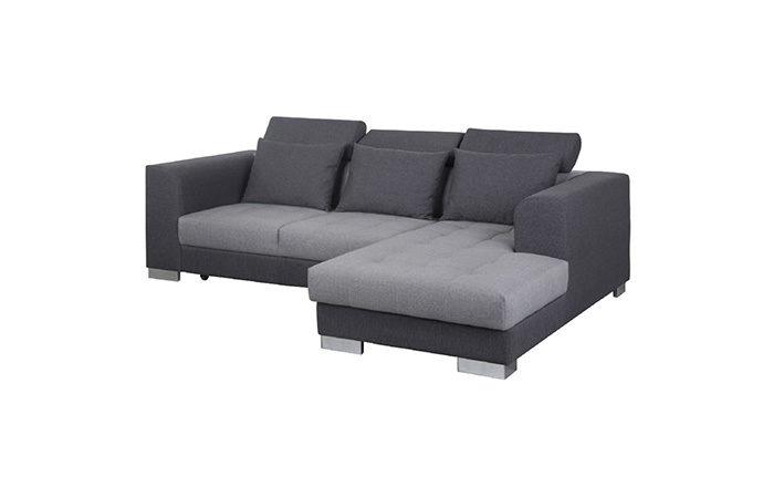 Canapé d'angle convertible couchage fermé - TORINO