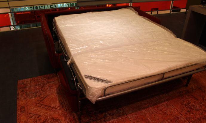 Canapé convertible brique // LATINA