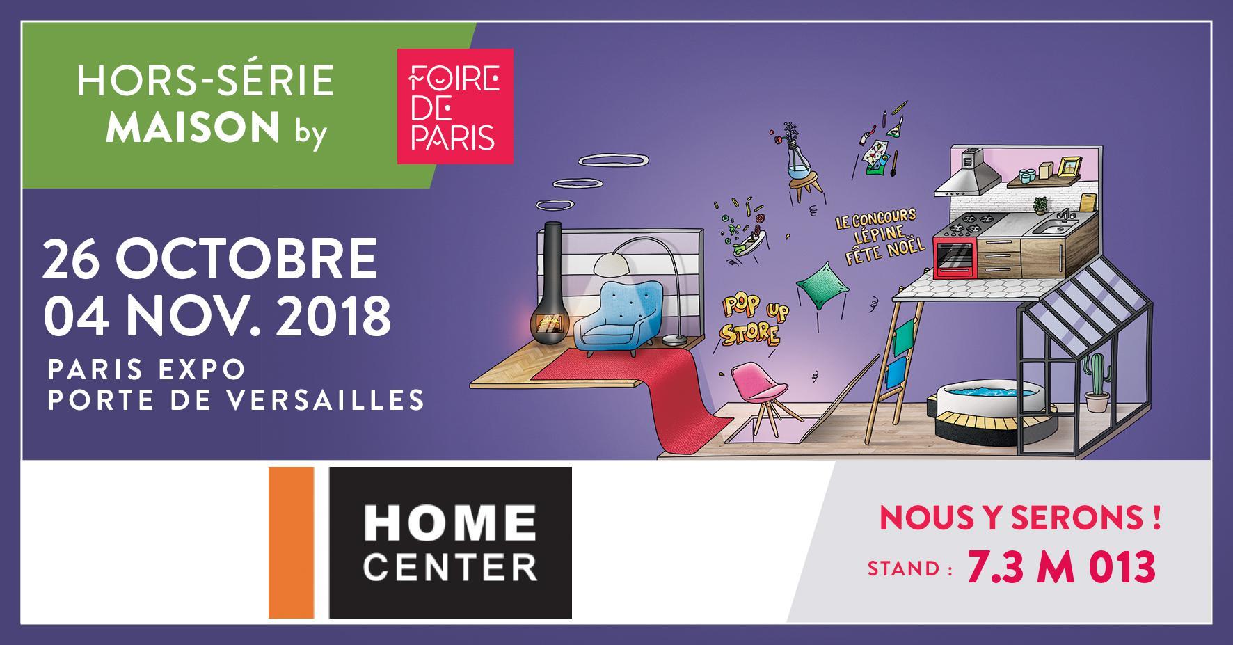 home center à la foire de paris : hors-série maison 2017