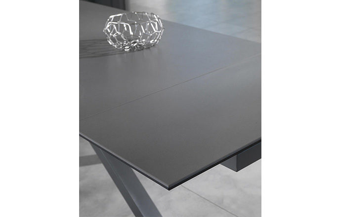 Table de repas extensible céramique gris - ASTBURY by Home Center