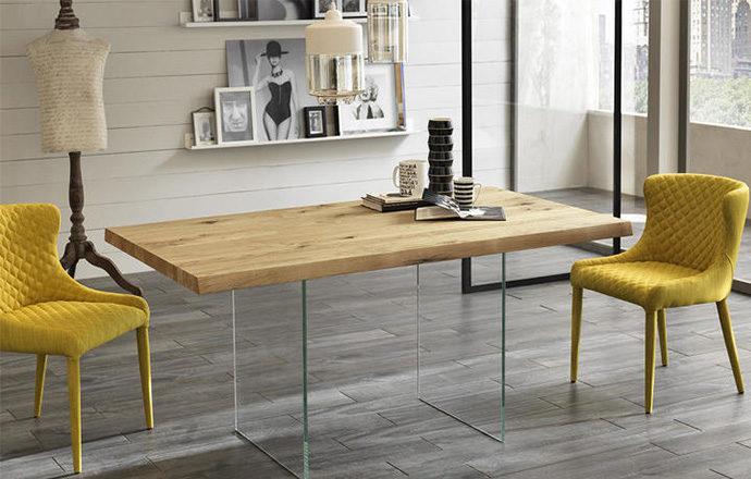 Table de repas en bois - POOL