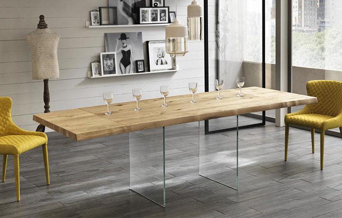 Table de repas extensible en bois - POOL