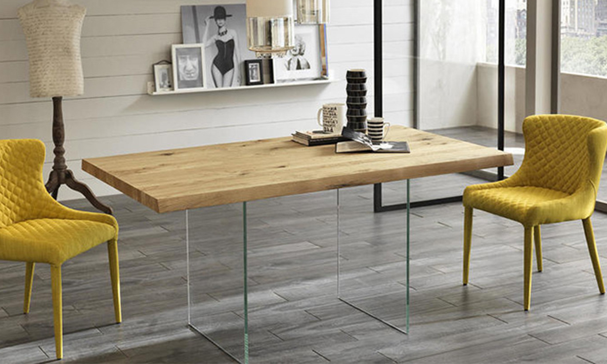 TABLE DE REPAS EN BOIS POOL – By Home Center 1