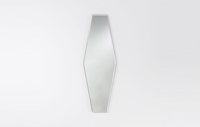 Miroir losange clear AURELIE de chez Deknudt Mirrors