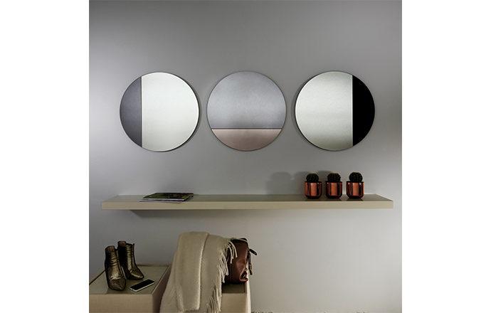 Miroir rond CORD de chez Deknudt