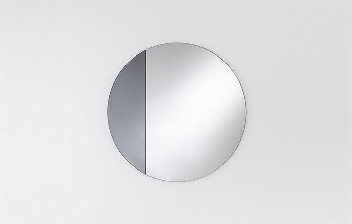 Miroir rond gris CORD de chez Deknudt